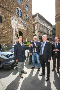 Delivery of the Renault TWIZY number 15,000 to the Municipality of Florence, Italy