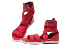 converse gladiator sandals red