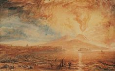 Joseph-Mallord-William-Turner-Bay-of-Naples-Vesuvius