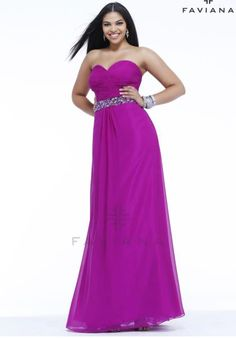 Faviana Dress 9334 at Peaches Boutique