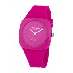 Damenuhr pink Quarz Eichmüller 7520-01