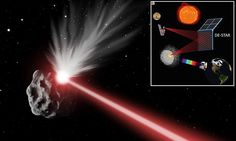 The laser weapon that could save Earth from asteroids: System could vapourise space rocks from 2 million miles away | Daily Mail Online