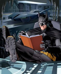 """""""A School Library is Like the Bat Cave: it's a safe fortress in a chaotic world, a source of knowledge and the lair of a superhero."""" - Tom Angleberger"""