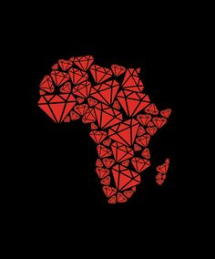 In spite of the fact that the problem has been known for years, the trade of so-called blood diamonds still fuels wars in southern Africa. WATCH NOW ! Dope Cartoons, Dope Cartoon Art, Black Girl Art, Black Women Art, Diamond Tattoos, Africa Map, South Africa, Diamond Eyes, Black Artwork