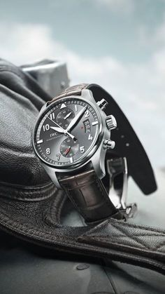♠ IWC Pilot's Watch Chronograph #Men #Watches #Lifestyle