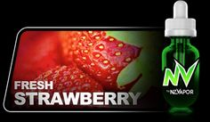 Fresh Strawberry NV Juice (e-juice) provides a truly sweet, fresh strawberry taste while both inhaling and especially on exhale. The delicious vapour that is produced is aromatic and sweet, so there will be no complaints from anyone around you (unlike the old smokes!). You might even attract a few new friends!  All products in the NV Juice range are designed to offer the highest vapour production available.