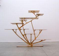 Joris Laarman - 21/11/2015 - 27/3/2016 @ Groninger Museum - Joris Laarman - Branch, 2010, Courtesy Friedman Benda