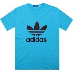 Adidas Trefoil Tshirt (cyan)