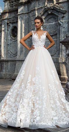 Milla Nova Bridal 2017 Wedding Dresses milena / http://www.deerpearlflowers.com/milla-nova-2017-wedding-dresses/19/