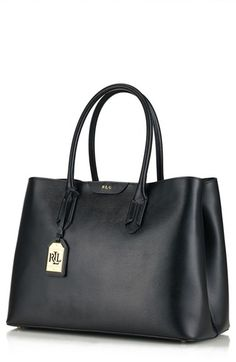 181e141338 Lauren+Ralph+Lauren+Leather+Tote+available+at+ Nordstrom Ralph