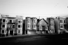 Black and White Streets of San Francisco Rue, San Francisco, Black And White, Landscape, Street, Photos, Photo Black White, Photography, Black White