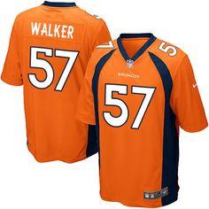 d429ceb91b5 Men's Nike Denver Broncos #57 Demarcus Walker Game Orange Team Color NFL  Jersey Broncos Shirts
