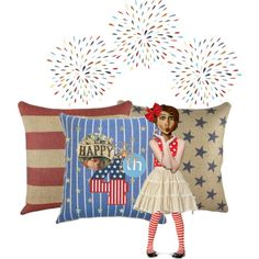 """""""HAPPPY 4TH OF jULY"""" by lindafaulkner-adams on Polyvore"""