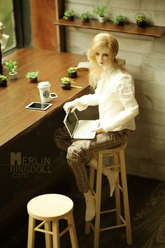 Merlin, 72cm Ring Doll - BJD Dolls, Accessories - Alice's Collections