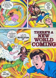 Some weird shiznit in here!  Science Fiction Sunday School Comics From The 1970s Were Trippy As Balls