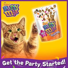 Do you have a special party tip to get your cat in a festive mood? Tell us! 3 tips will be chosen for future Party Mix packaging! Our tip for today: Guest had too much catnip? Call a cab.
