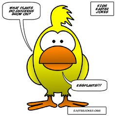 The whole family will be laughing at this great collection of Easter chicken jokes. Funny Easter chicken jokes and humor. Easter Jokes, Easter Cartoons, Cartoon Jokes, Funny Jokes, Hilarious, Chicken Jokes, Knock Knock Jokes, Houses, Spring