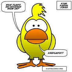 Funny Easter Jokes, Easter Cartoons, Funny Jokes, Hilarious, Chicken Jokes, Knock Knock Jokes, Easter Quotes, Jokes And Riddles, Cartoon Jokes