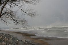 Whipping Waves of Lake Michigan Gallery - Indiana Dunes National Lakeshore