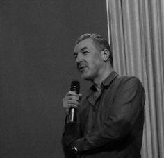Regisseur Ed Moschitz nach der Vorführung des Dokumentarfilms MAMA ILLEGAL am 13.04.2013 im Metropolis Kino Hamburg im Publikumsgespräch.