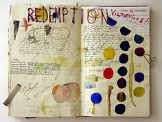 Art Journaling  tons of beautiful pages