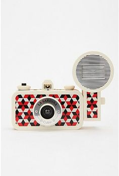 UrbanOutfitters.com > Lomography La Sardina Flash DXL Analogue Camera...this would make me feel like a tourist in the '50s
