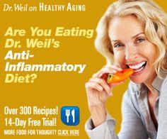Anti-Inflammatory Diet - Dr. Weil