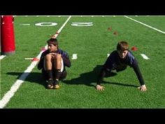 Football Drills & Skills : How to Build Muscle for Football