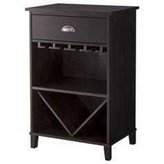 Threshold™ Bar/Wine Storage Cabinet - Tobacco sale price $89.00