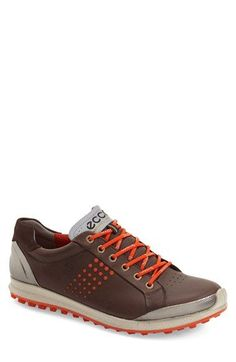 Free shipping and returns on ECCO 'Biom Hybrid 2' Golf Shoe (Men) at Nordstrom.com. Smart leather enhances the durability of a sporty golf shoe designed with a triple-component, anatomical footbed for superior comfort and a secure fit. A single-density sole creates ground-gripping stability in any weather.