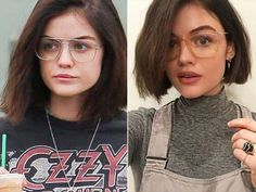 Judging by the increasingly shorter chops the actress has been going for over the past few years, It... - BG015/Bauer-Griffin/GC; Lucy Hale/Instagram