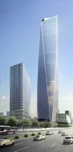 North East Asia Trade Tower, Songdo IBD, Incheon, Korea by Kohn Pedersen Fox Architects :: 68 floors, height 305m