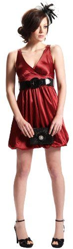 Great dress and great service!       http://amzn.to/HyH6Fe       #Black Wrap Bodice Empire waist plus size #Dress