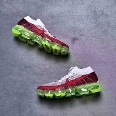 0fd65569a147 NIKE VAPORMAX FLYKNIT AIR MAX DAY RED GREEN 941927 991  sporttime   underarmour  xtrembike