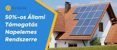 EU-Solar - Napelemes kalkulátor a nulla forintos villanyszámlához. Solar Panels, Outdoor Decor, Sun Panels, Solar Power Panels
