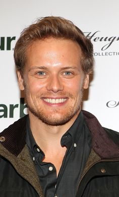 NEW HQ Pics of Sam Heughan at his Barbour Collection Launch | Outlander Online