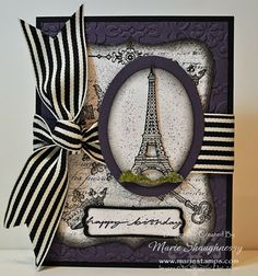 Stampin' Up card by Marie Shaughnessy
