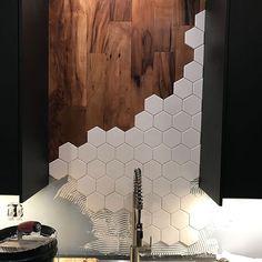 Install the backsplash for hexagonal tiles toda . - backsplash Hexagon in .Install the backsplash for hexagon tiles toda . - backsplash Hexagon installed schwebend Tile Install the backsplash of the hexagon tile toda .