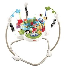 Fisher Price Discover n Grow Jungle Piano Jumperoo Baby Activity Center Jumper