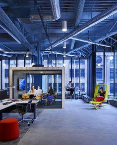 Perkins+Will StudioIDS Offices - Minneapolis - Office Snapshots