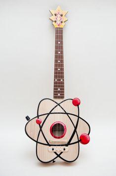 Cool Ukulele Designs | Atom Ukulele | MusicKit | Gear