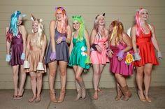 My Little Pony | Kostüm-Idee für Gruppen zu Karneval, Halloween & Fasching