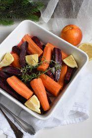 ogrody babilonu: pieczone marchewki z cytrusami i rozmarynem Carrots, Vegetables, Food, Essen, Carrot, Vegetable Recipes, Meals, Yemek, Veggies