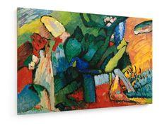 Wassily Kandinsky - Improvisation No. 4 #Wassily #Kandinsky #weewado #wassily #kandinsky #art #beasts