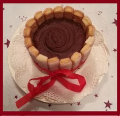 Special delicious Christmas dessert...
