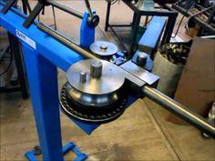 Bending x 16 swg erw stainless steel tube - Useful Tools Mandrel Tube Bender Mk 5 Metal Bending Tools, Metal Working Tools, Metal Tools, Workshop Storage, Tool Storage, Cool Tools, Diy Tools, Metal Bender, Metal Forming