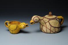 jan hopkins artist | Goblets and Teapots