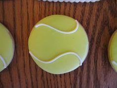 Craft, Bake, Sew, Create: Tennis Cookies