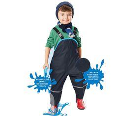 Children Waterproof Rain Pants New 2017 Brand Waterproof Overalls 1-7Yrs Baby Boys Girls Overalls Fashion Kids Overalls