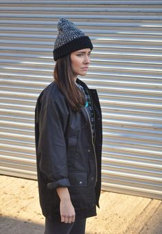 Vintage Retro NEW Black Wax Winter Check Lined Coat Jacket | Gone Retro | ASOS Marketplace